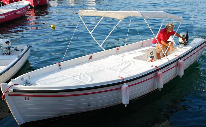 Esperienza fantastica noleggio barche isola di ponza for Barca lancia vetroresina